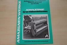 162878) Amazone Gras Säkombination Prospekt 1976