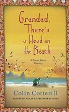 Grandad, There's a Head on the Beach (Jimm Juree Mystery)-ExLibrary