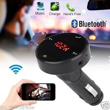 Wireless Car Kit MP3 Player Radio Bluetooth FM Transmitter SD USB Charger Remote