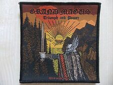 Patch ricamate-Grand Magus-TRIUMPH & Power-The Gates of Slumber-Argus