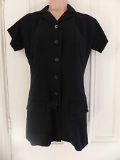 Dolce & Gabbana size 42 (UK 10) black short sleeved jacket