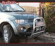 MITSUBISHI L200 2006+ BULL BAR, NUDGE BAR, A BAR + GRATIS!!! STAINLESS STEEL!!