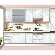 """Gray Marble Wallpaper PVC Contact Paper Wall Sticker Home Decoration 24""""x39.4"""""""