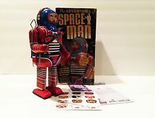 SCHYLLING THE ADVENTURES OF SPACE MAN TIN WIND UP ROBOT MINT