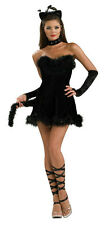 Secret Wishes Women's Kissable Kitty Sexy Fancy Black Cat Adult Costume Medium