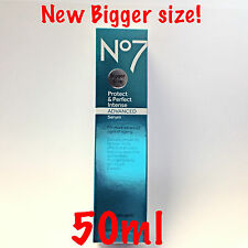 No7 Protect & Perfect Intense Advanced Serum 50ml Bigger XL Size Damaged Box