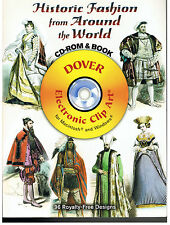 HISTORIC FASHION FROM AROUND THE WORLD IMAGES DOVER CLIPART[96 ROYALTY FREE]NEW