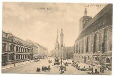 Guben 1915, am Markt