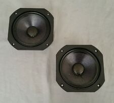 Pair Of JBL 104H-2 Speaker Midrange Drivers 4410 A 4412 A L100T L80T