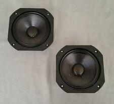Pair Of JBL 104H-2 Speaker Midrange Drivers 4410 A 4412 A L100T L80T