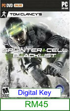 PC Tom Clancy's Splinter Cell Blacklist ★Brand New & Sealed★