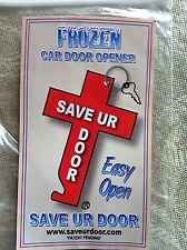 SAVE UR DOOR - FROZEN - CAR DOOR - OPENER - HOW TO - DE-ICER ANTIFREEZE