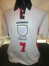 World Cup Edition 1998-00 Beckham England Home Football Shirt XL Adults (33064)
