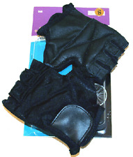 Adult Lycra Cycling Gloves Small / Black Cycling Gloves NEW!