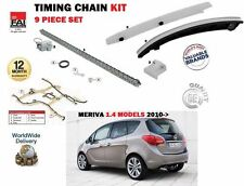 Per Vauxhall Opel Meriva B 1.4 A14NET a14nel + GPL 2010 - > CAM TIMING CHAIN KIT