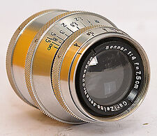 Sonnar 4 f=7,5cm Carl Zeiss Jena f. MOVIKON ! (7407)
