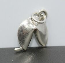 Sterling Silver Fortune Cookie Charm