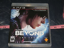 kk Beyond: Two Souls Sony Playstation 3, 2013) NEW SEALED Free Domestic Shipping