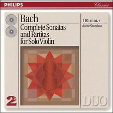 Bach: Complete Soantas and Partitas for Solo Violin (CD, Dec-1993, 2 Discs,...
