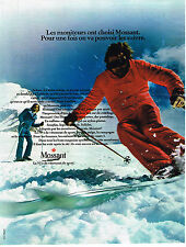 PUBLICITE ADVERTISING 014   1973   MOSSANT  vetement de sport de ski  3