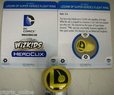 Heroclix DC Legion of Super Heroes Flight Ring Object w/ Stat Card New Condition