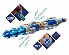 Doctor Who 12th Sonic Screwdriver 2nd Edition Capaldi Blue Green New - US Seller