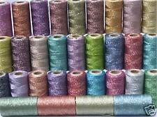 35 Metallic Embriodery Spools, 35 different Colours, High Quality, Wholesale