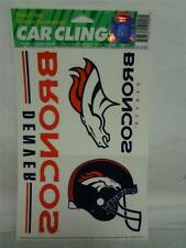Denver Broncos NFL Football Color Clings Car Home Window Decal 919920 NEW