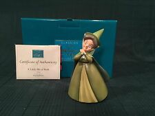 """WDCC Sleeping Beauty - Fauna """"A Little Bit of Both"""" New in Box"""