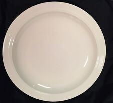 "Jasper Conran at Wedgwood Casual Cream Round Platter ( Chop Plate ) 17"" ~new~"