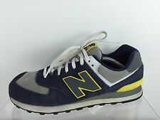 New Balance Mens Navy/Multi Color Shoes 12 D