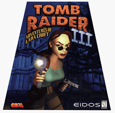 Tomb Raider 3 III PC New Sealed in Trapezoid Box Rare