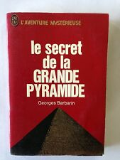 J'AI LU AVENTURE MYSTERIEUSE N° A 216  SECRET DE LA GRANDE PYRAMIDE BARBARIN
