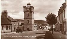 Tower from Conval Street Dufftown unused RP pc 1939 Valentines