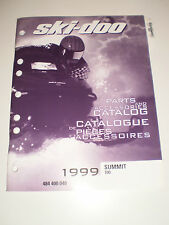 SKIDOO 1999 PARTS AND ACCESSORIES CATALOG MANUAL SUMMIT 700