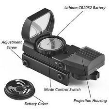 Punto Holográfico Rojo/Verde 1x22x33 para pistola Pistola Airsoft alcance de visor