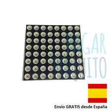 Display matriz digital led 8x8 3mm 16 pins 64 led diodo rojo Arduino electronica
