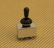 EP-8366-003 Black Custom Korean Box Toggle Switch Black Tip