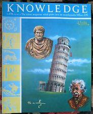 Knowledge magazine No174 Lichens, Dreams, the Emperor Theodosius, Dreams, 1966