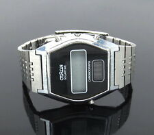Vintage Oltron Solartime Chronograph Korean Made Stainless Steel Wrist Watch