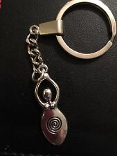 Fertility Goddess Wicca Pagan necklace Tibetan Key Ring Bag Charm In Gift Bag