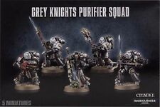 Gris Caballeros Purificador Squad-Warhammer 40,000 40k-Games Workshop-Marines