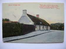 Robert (Rabbie) Burns Cottage, Alloway, Ayr.    (Ideal D&SK Series - 1909)