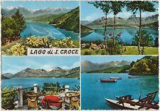 LAGO DI S.CROCE - VEDUTINE - FARRA D'ALPAGO (BELLUNO) 1960