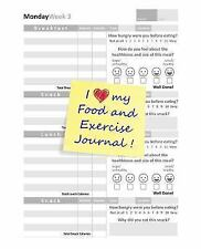 I Love My Food and Exercise Journal by Food Food Journals (2014, Paperback)