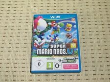 New super Mario Bros. u + New super Luigi u pour nintendo wii u * OVP *
