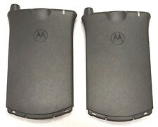 2X Motorola Startac Back St 3000 Analog Cover Case Hole Antenna Door ORIGINAL