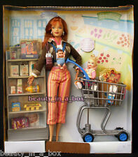Shopping Fun Midge & Nikki Barbie Doll Happy Family ~NO BOX~ Shopping Cart Store