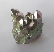 Gold Rainbow Titanium Aura Crystal 38g
