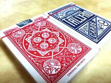 2 PACKS TALLY HO Fan BACK PLAYING CARD ORIGINAL